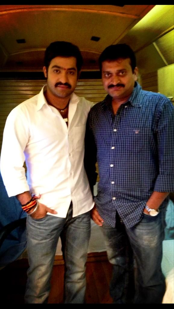 ntr with bandla ganesh