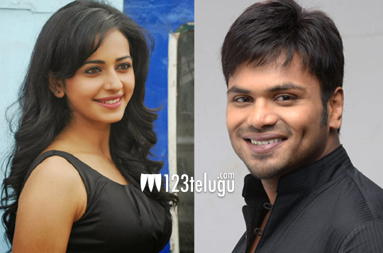 rakul preet singh and manchu manoj