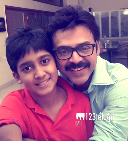Venkatesh-with-son