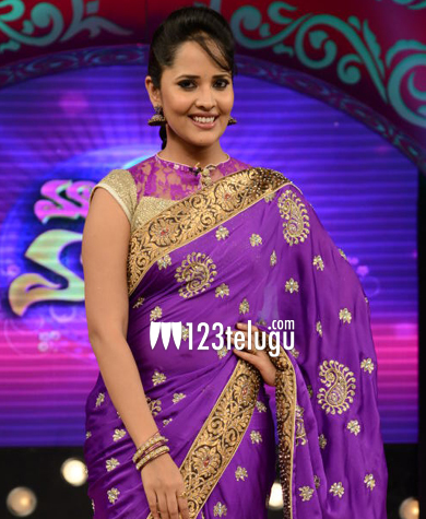 Anchor-Anasuya.