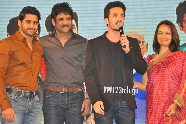 Akhil's-Debut-Movie-Launch