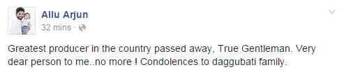 Celebs Condolence to Ramanaidu (2)