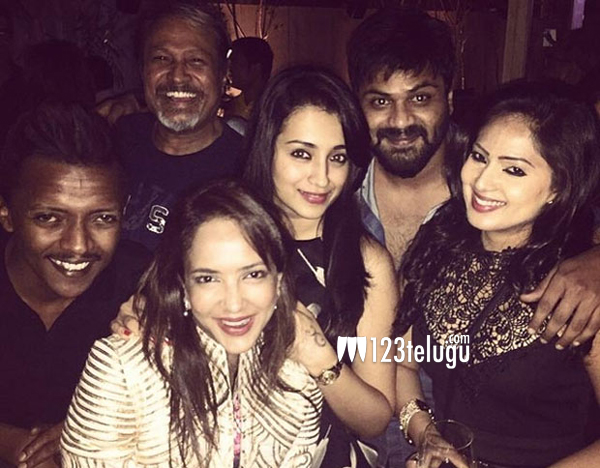 Trisha-parties-with-the-Man