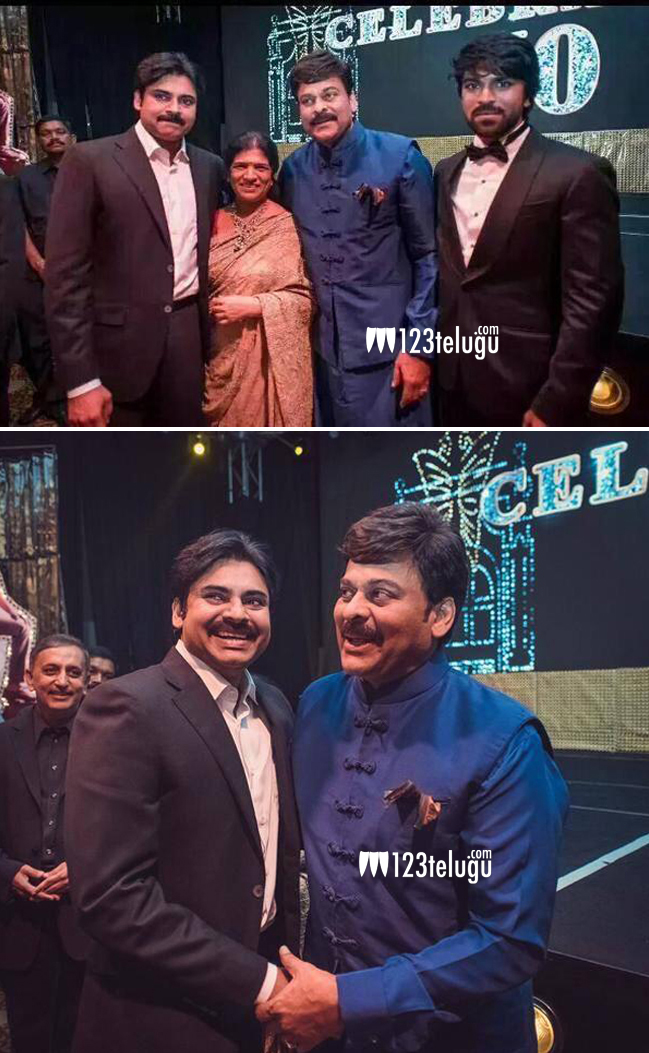 chiranjeevi with family