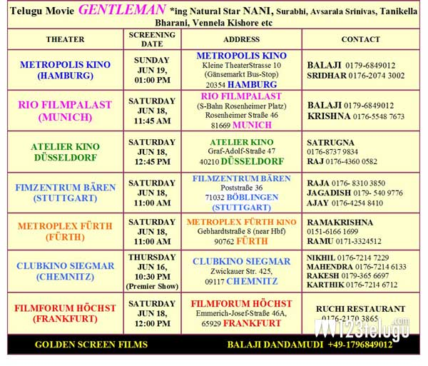 Gentleman_Germany_Schedules
