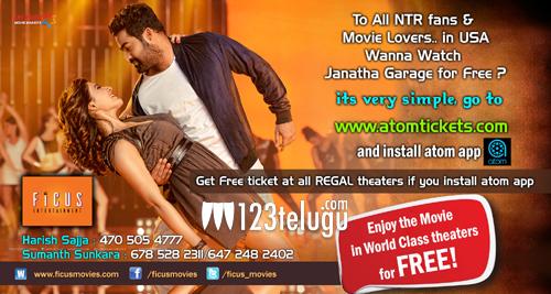 Janatha-Garage-free-tickete
