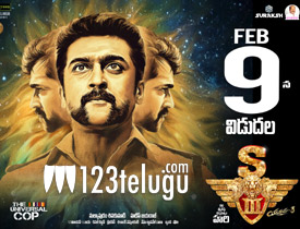 Singam3 movie review