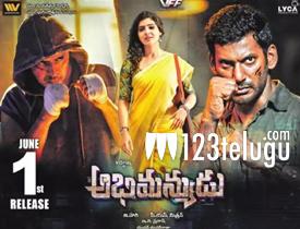 Abhimanyudu movie review