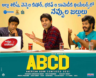 ABCD Allu Sirish New Poster