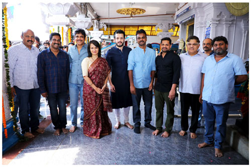 Akhil's fourth film launched formally