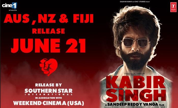 Kabir Singh in USA