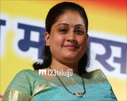 Vijaya Shanti back on sets after 13 years!