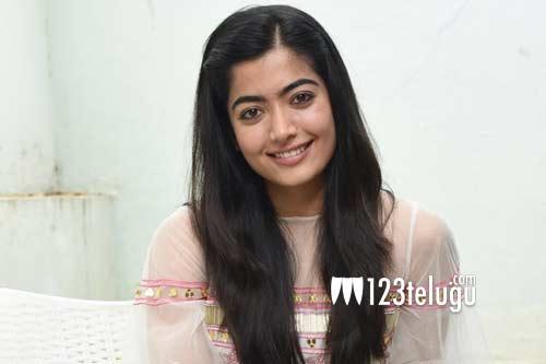 Rashmika's cute intro for Sarileru's 'He's So Cute' song goes viral