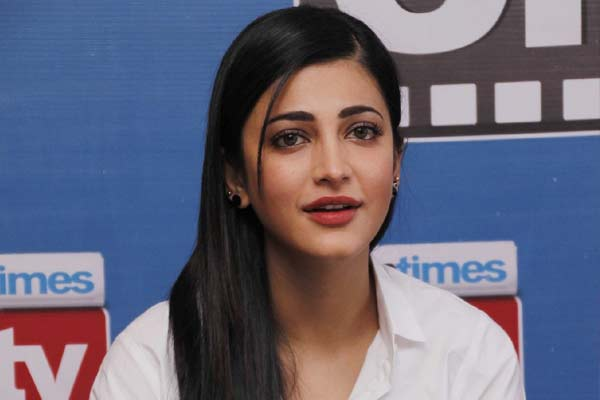 Shruti Haasan excited about her Tollywood comeback