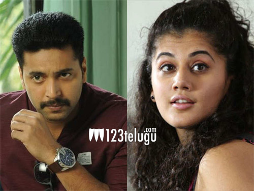 Jayam Ravi, Taapsee team up for a spy thriller