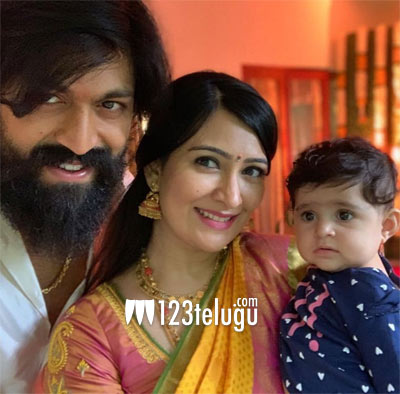 KGF star Yash celebrates this special day with wife