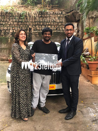Puri Jagannadh, Charmme buy swanky luxury cars