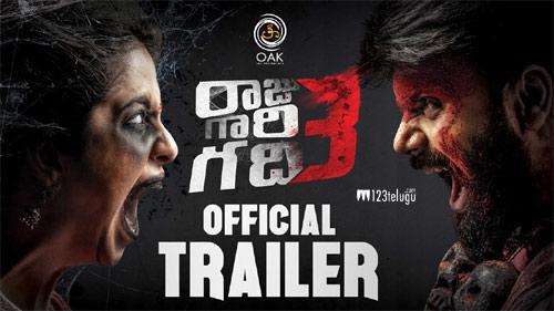 Raju Gari Gadhi 3's spooky trailer unveiled
