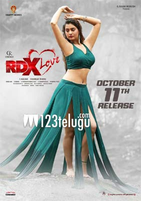 Payal Rajput's RDX Love seals its release date
