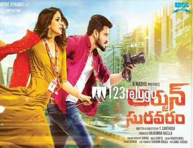 Arjun Suravaram movie review