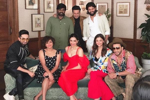 Vijay and Vijay's year-end roundtable with top Bollywood stars