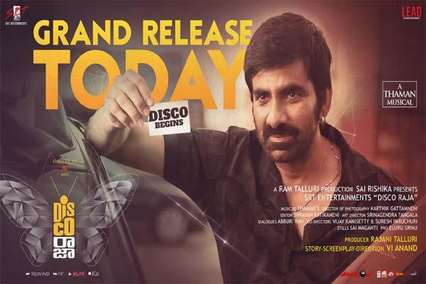 Disco Raja Telugu Movie Review | 123telugu.com