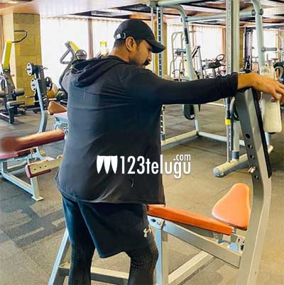 Ram Charan sweats it out in the gym for RRR's action sequences