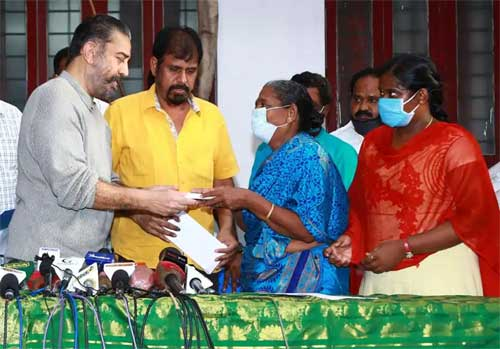 Indian 2 accident: Kamal, Shankar and Lyca handover Rs 3 crore