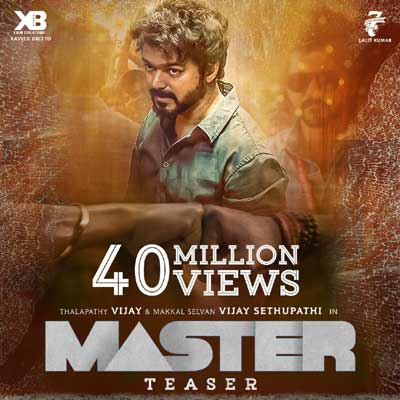Vijay's Master teaser is just unstoppable