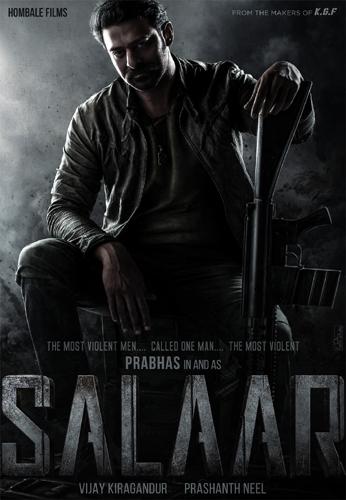 Prabhas announces massive film titled Salaar