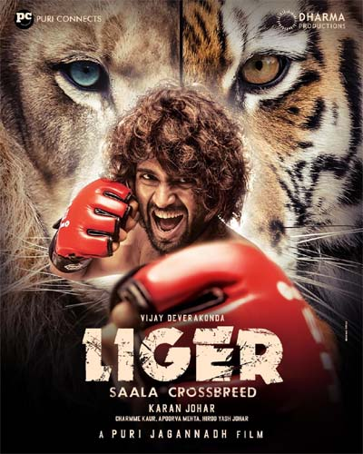 Liger's first look sets a new South Indian record
