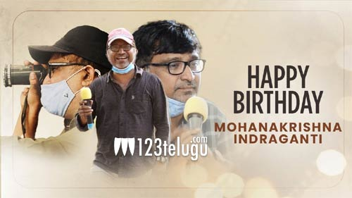 Sudheer, Krithi's AAGMC's team's spl b'day wishes to Indraganti Mohanakrisha