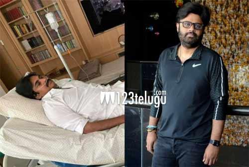 Young producer taking care of Pawan Kalyan