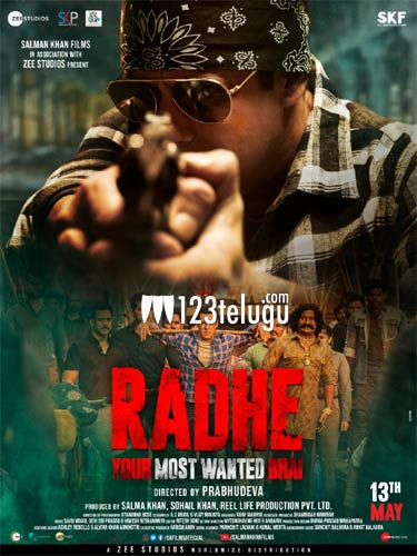 Salman's Radhe gets massive cuts from Censors