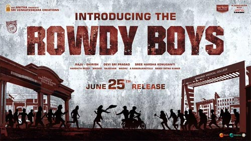 Dil Raju's nephew's Rowdy Boys seals its release date; Motion poster out