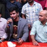 Arjun Suravaram Team Tour at Warangal