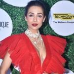 Malaika Arora at Global fit and fab awards