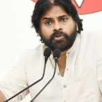 Pawan Kalyan at a meeting with his party leaders