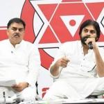 Pawan Kalyan at Vijayawada Press Meet