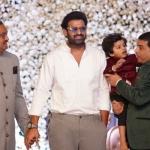 Prabhas and Vijay Deverakonda at producer Lakshman son Ujwal's engagement