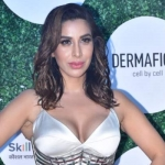 Sophie Choudry at Global fit and fab awards