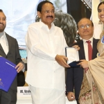 Keerthy Suresh receives National Award from Vice President