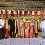 Celebs at journalist Prabhu's daughter wedding
