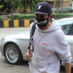 Abhishek Bachchan snapped at Juhu