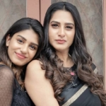 Surekha Vani and her cute daughter