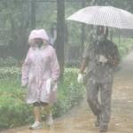 Ekta Kapoor enjoys the Mumbai rains