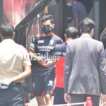 Photos: Virat Kohli off to Wankhede Stadium, Mumbai, with RCB Team