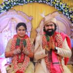 Actor Ashish Gandhi – Nikitha 's Wedding