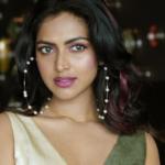 New Photos : Amala Paul in Hyderabad for Kudi Yedamaithe promotions