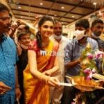 Uppena actress Krithi Shetty launches Maangalya's 10th store